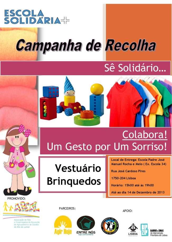 Cartaz_Campanha de Recolha de Natal